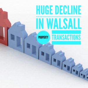 Is the buy to let dream over for Walsall Landlords? Property Transactions in the Borough down by 23.3%!!
