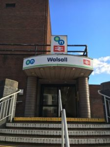 Walsall's Train Stations are used by 1.2m People a Year!