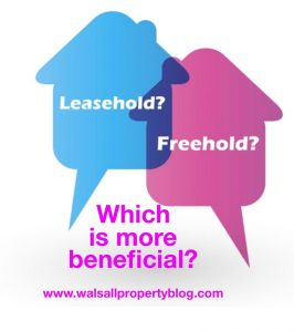 Would you buy a leasehold house in Walsall?