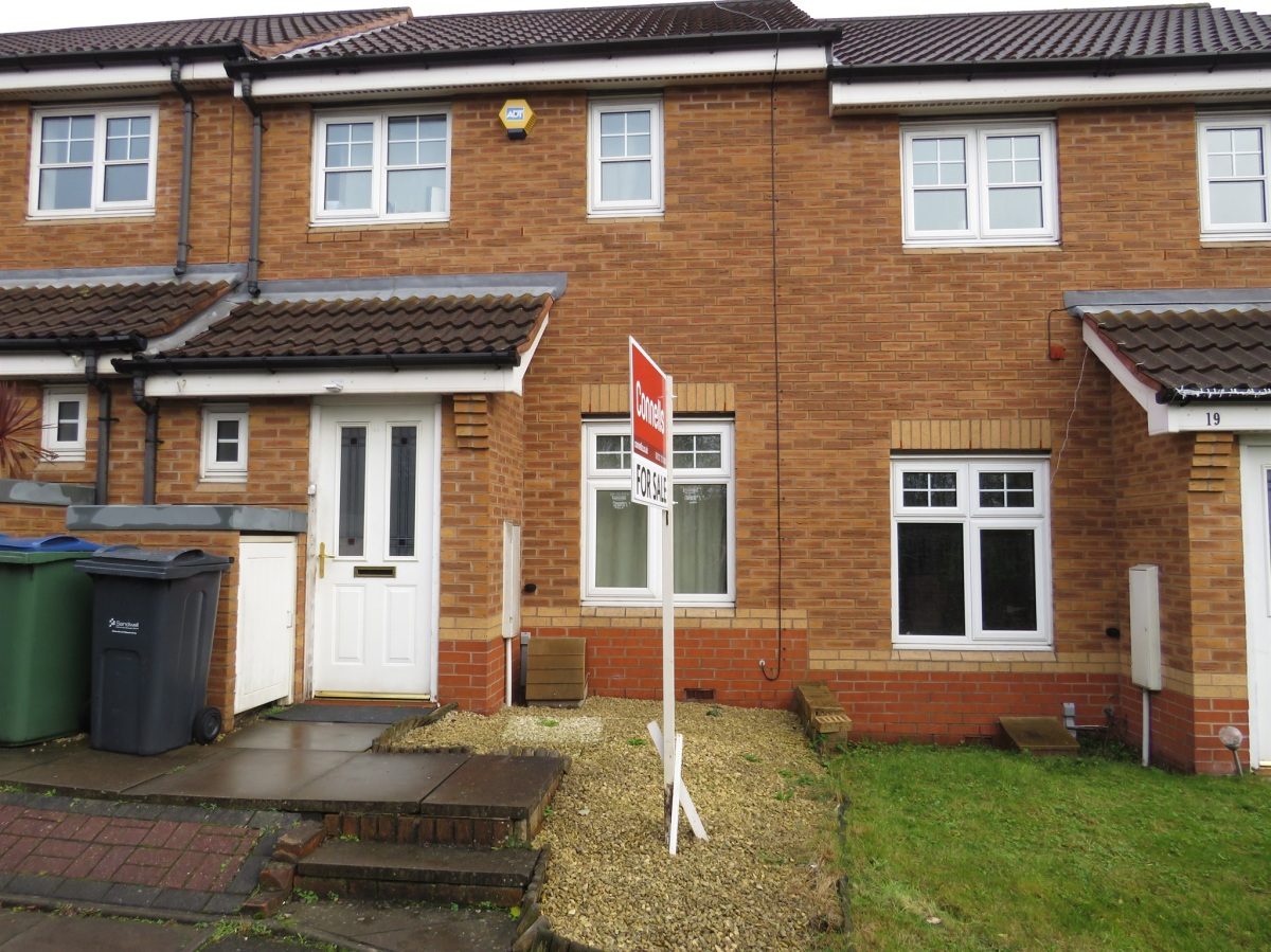 Today's Buy To Let Deal Yields 5.04%, Two Bed Terraced, Poppy Drive, Walsall, WS5.