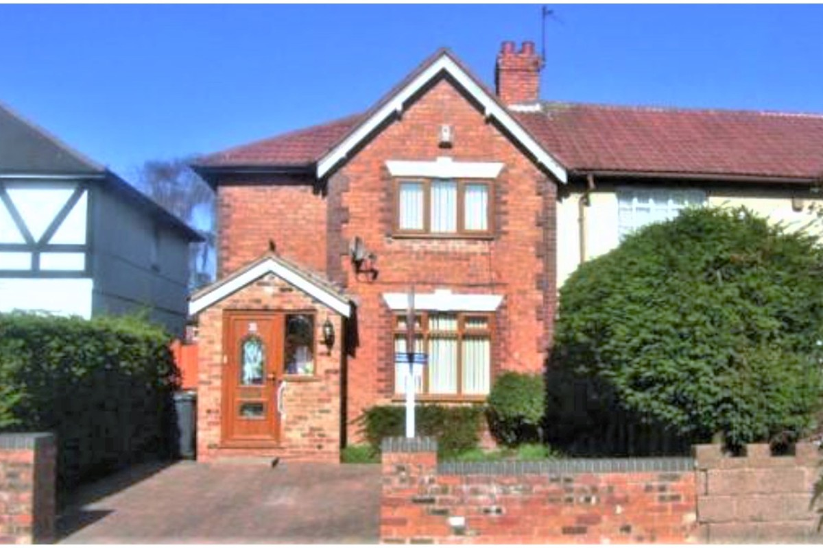 Today's Buy To Let Deal - 3 Bedroom End Terrace House, Holford Avenue, Walsall, WS2, Yields 5.77%