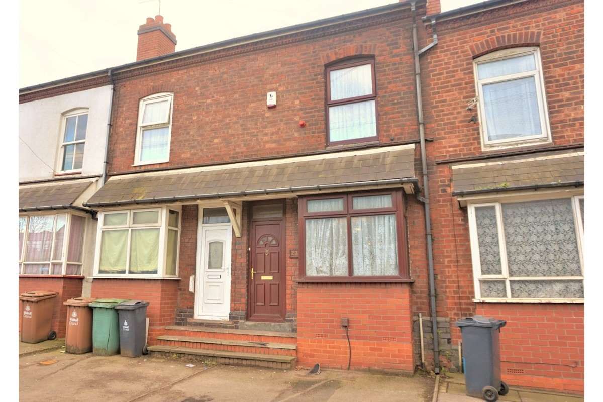 Today's Buy To Let Deal 3 Bed Terraced, Walsall, WS2. Yields 6.30%.
